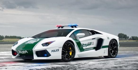 Lamborghini, Porsche, Mercedes y Lotus optan a ser el mejor vehículo que usa la policía en distintas partes del mundo.