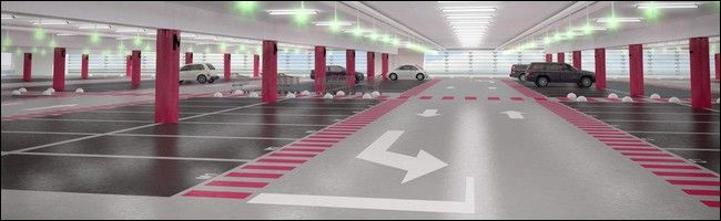 Parking souterrain marquage au sol couleur for Parking orly garage jas