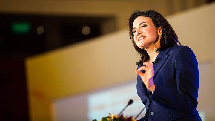 Cosmo Careers guest editor and Facebook COO Sheryl Sandberg has something to get off her chest.