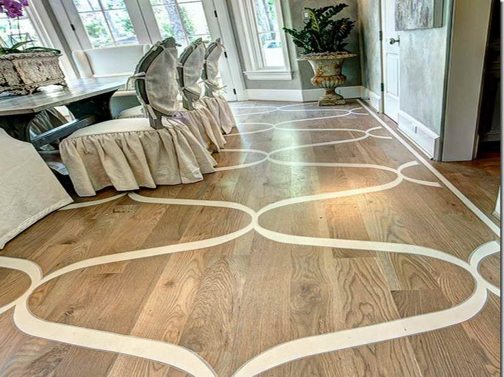 49 Best Images About Painted Wood Floors On Pinterest
