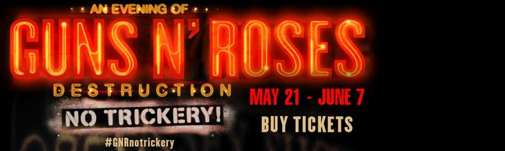 Guns N' Roses Las Vegas. Tickets available now. www.vegasyoubet.com