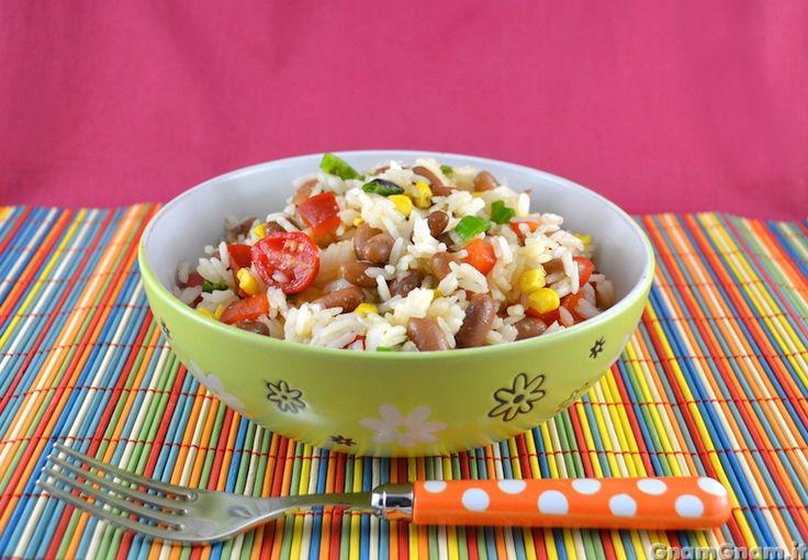 Scopri la ricetta di: Insalata di riso alla messicana