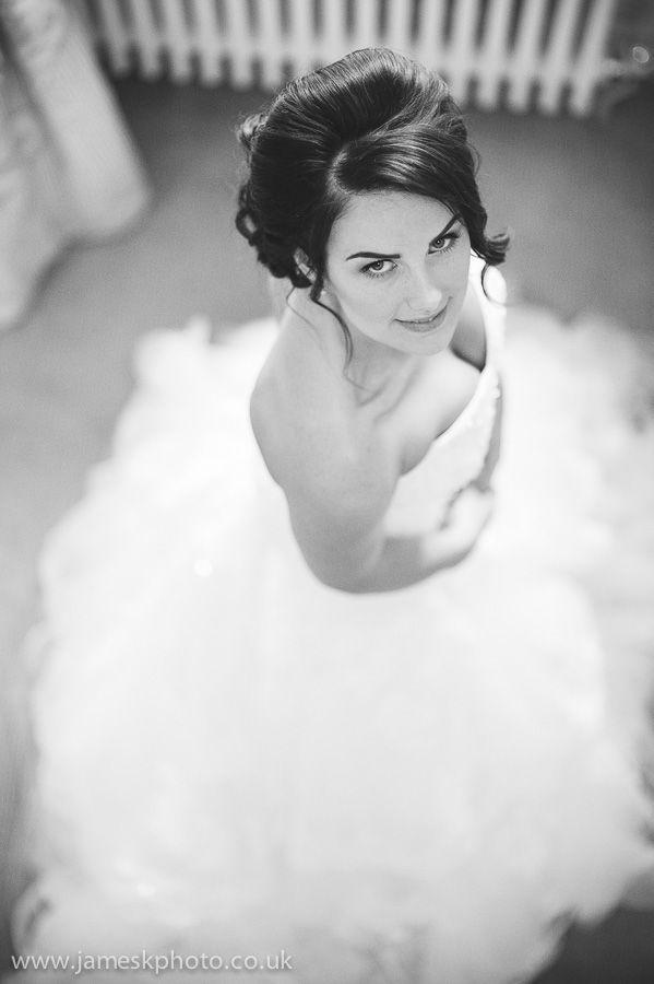 Wedding at Woburn Abbey, Bedfordshire. Gorgeous bride. www.jameskphoto.co.uk