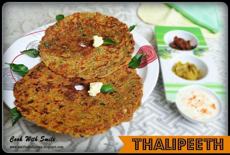 THALIPEETH RECIPE,MULTIGRAINS INDIAN FLAT BREAD