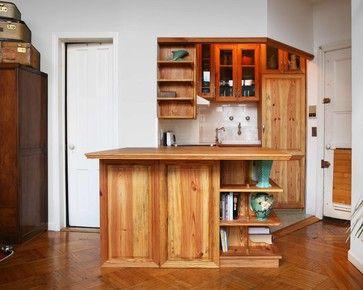 Tiny 48sqft traditional kitchen by Grant Davis Thompson, INC.