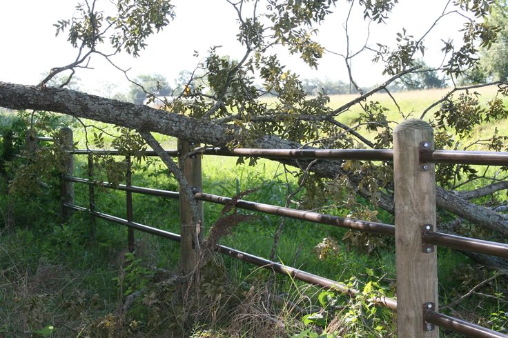 Bad weather causing you to need a new fence? Ponderosa Fence is built to last!