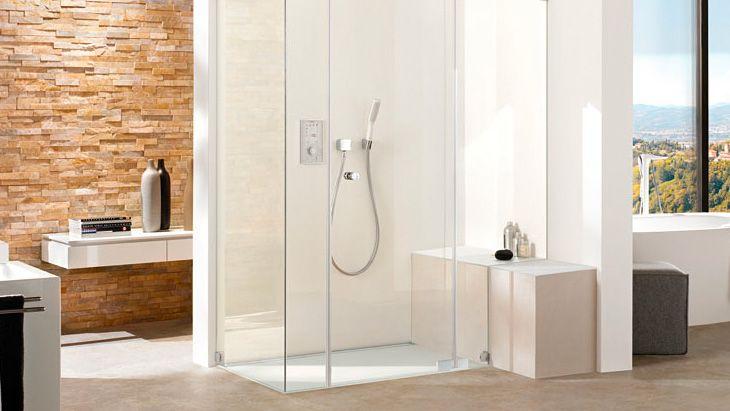Tendenza bagno doccia a filo pavimento | Hansgrohe SRL