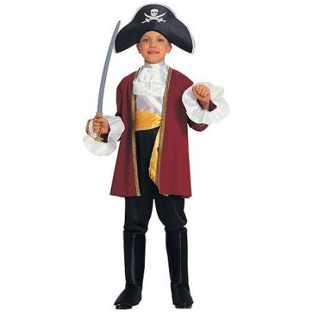 captain hook toddler halloween costume boyu0027s size small multicolor