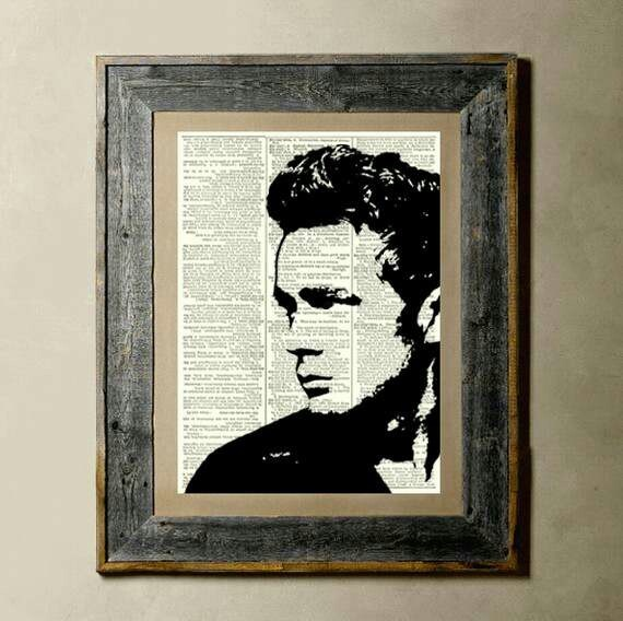 James Dean print.  http://www.etsy.com/shop/TheLittleRice