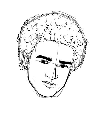 how draw afro  Поиск в google  cool how to draws  afro
