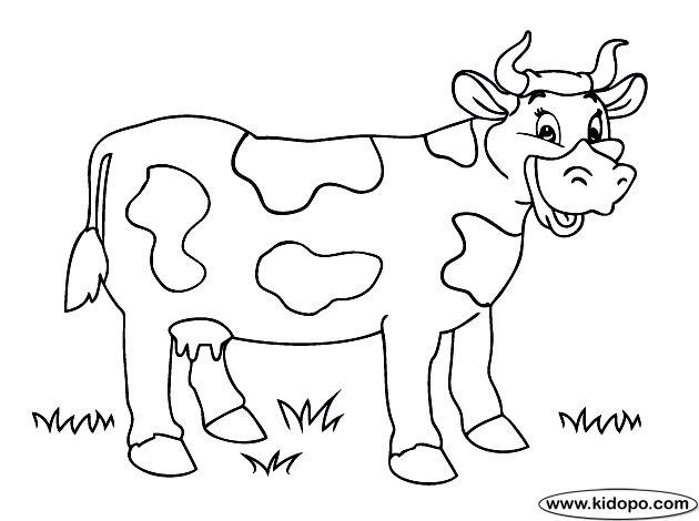 vaca para colorear buscar con google more farm animals search colorear ...