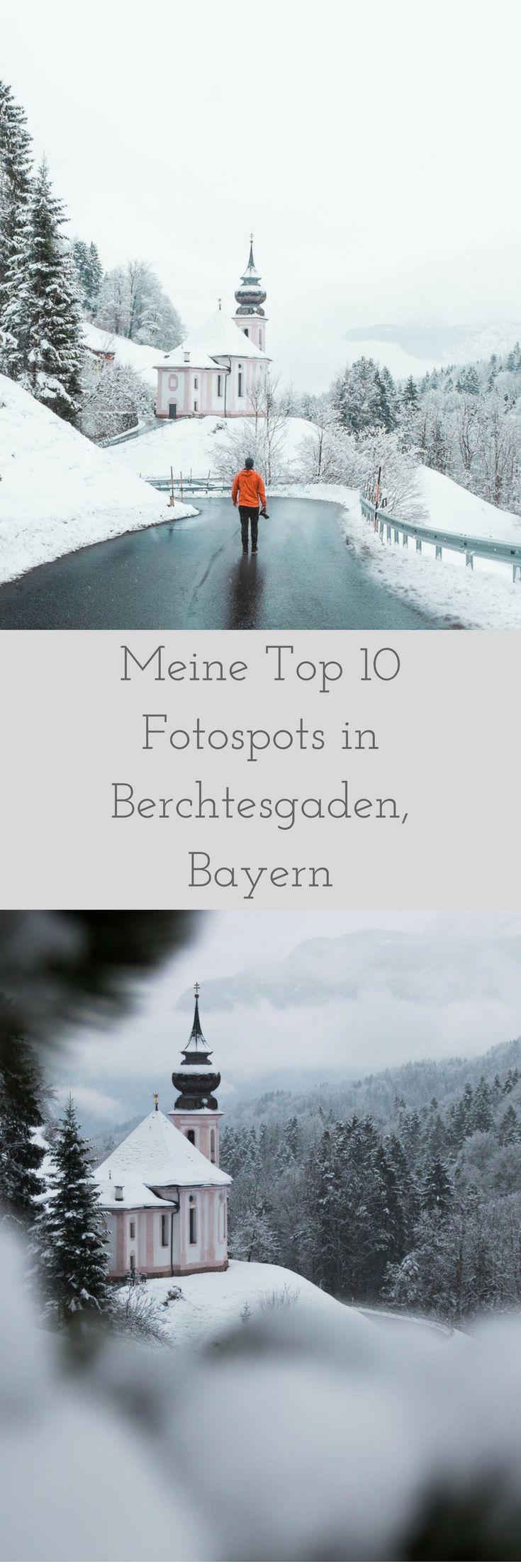Meine Top 10 Fotospots in Berchtesgaden Teil II. Wandern und Fotografie in Berchtesgaden. Die schönsten Fotospots erfährst du hier. Los geht's!