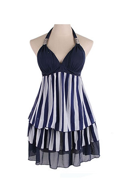 I really want this swim dress! It's so cute