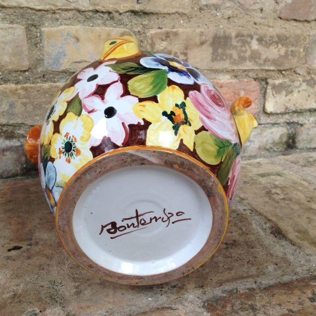 firma di autenticità della nostra ceramica