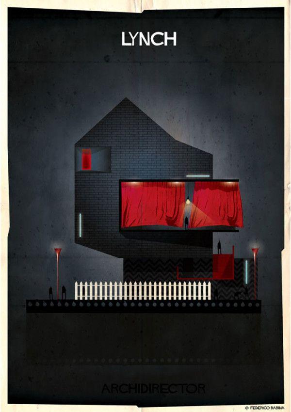 Wenn Regisseure Architekten wären –Ein Gebäude in den Stilen von 27 Filmemachern