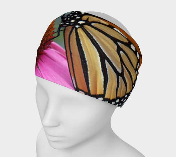 Monarch Butterfly Headband by Cori-Beth's Originals on Etsy