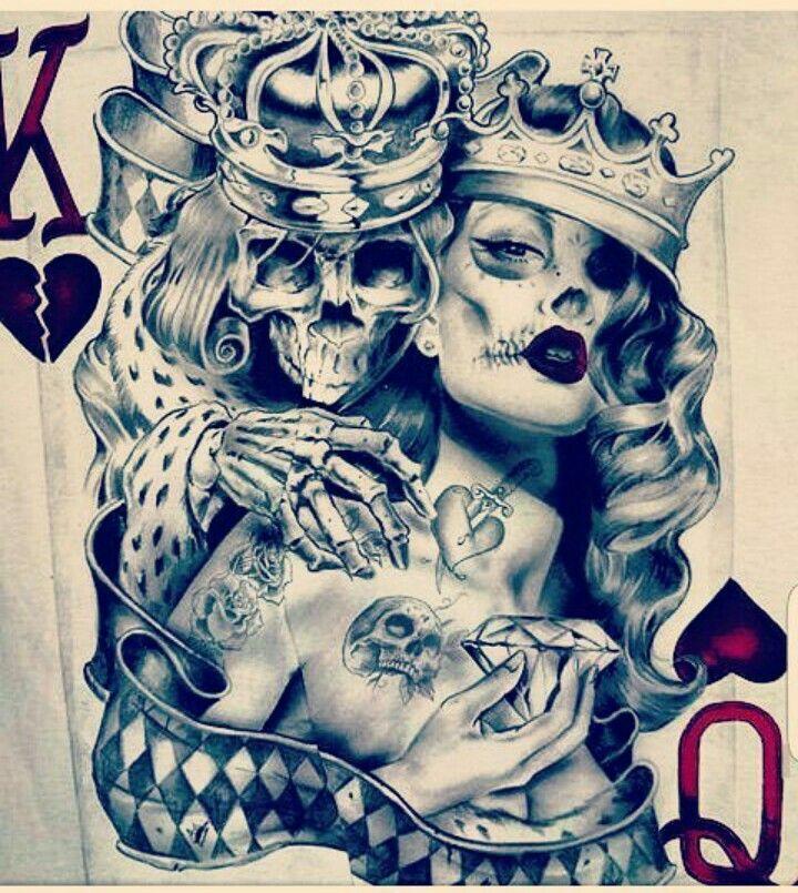 картинки татуировок карты