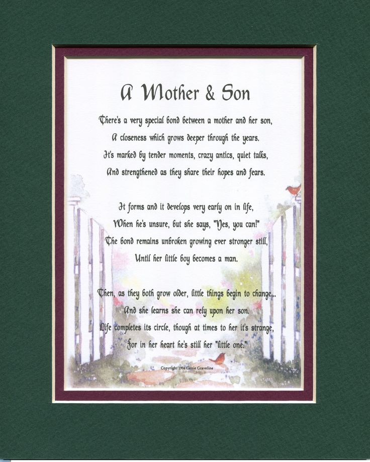 essay on mother to son poem
