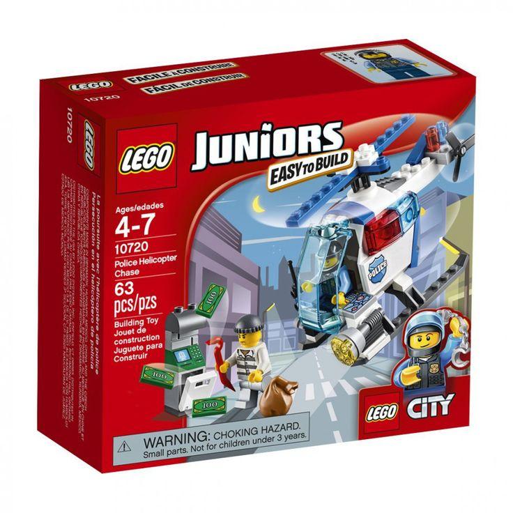 LEGO Juniors Police Helicopter Chase 10720 #LEGOJuniors