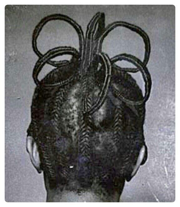 Nigerian hair style | Photo by J. D. 'Okhai Ojeikere