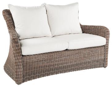 Sag Harbor Settee - By Kingsley Bate - traditional - outdoor sofas - dc metro - Kingsley-Bate