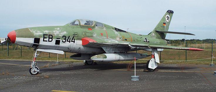 US Republic RF-84FThunderflash1950 Luftwaffe Museum Gatow Berlin