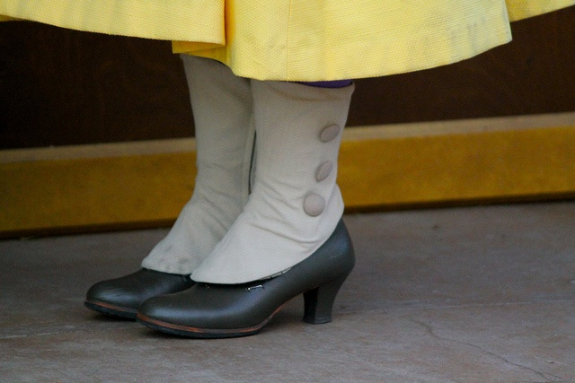 Jane Porter Costume Detail. Her shoes are so cute! Long Lost Friends Week (April 9). Photo by #RebeccaVanLoon