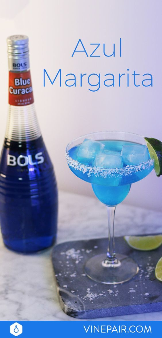 Up your margarita game with this Azul Margarita. The BOLSBlue Curaçao adds natural citrus flavor to your margarita, plus it gives your drink a beautiful blue hue. The recipe is super simple, leaving you more time to entertain your guests these last few days of summer.