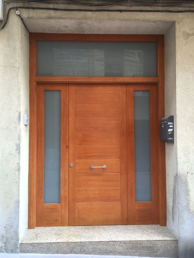 80 Alluring Front Door Designs To Refine Your Home: Bejárati Ajtó, Ajtó, Bejárat