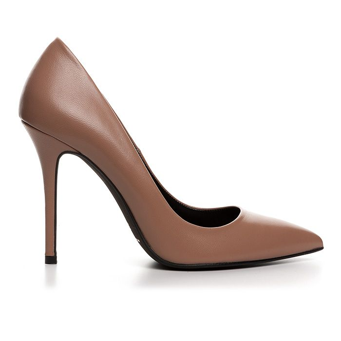 100400_NUDE LEATHER www.mourtzi.com #nudes #nude_outfit #wearthis #pumps #mourtzi