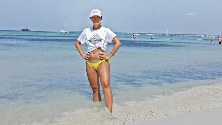 Romana sa na pláži Playa de Es Trenc cítila ako v Karibiku. | Nový Čas