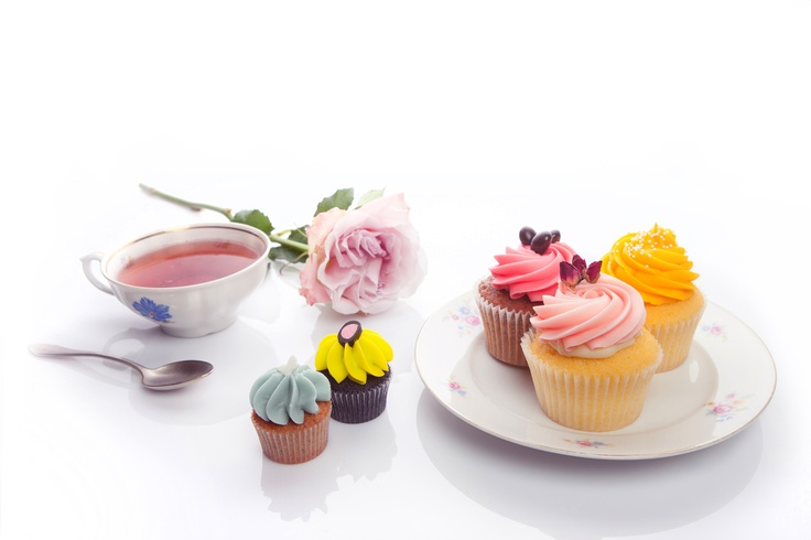Is it tea time? No, it's time for a cupcake!