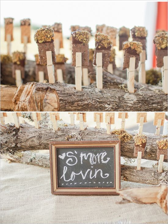 76 Best Images About Wedding: S'mores Bar On Pinterest