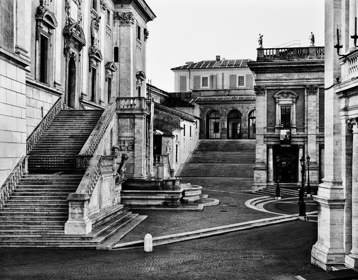 The Campidoglio. Rome. Photography. Gabriele Basilico. http://hadrian6.tumblr.com