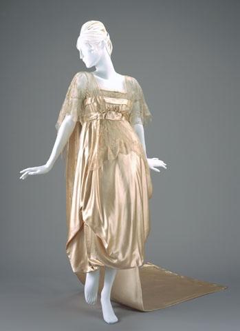 1917 Wedding Dress by Josephine M. Kasselman, USA