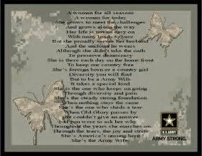 Image result for army wife quotes