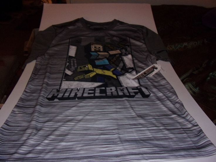 Mojang: Minecraft Boys / Youth Size 14-16 XL T-Shirt / Brand New With Tags #Minecraft #Everyday
