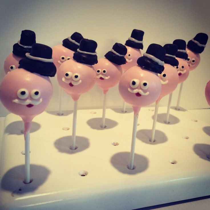 Pops from The Regular Show cake pops wwwFayesCakePops.com