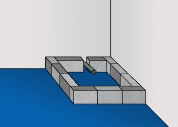 Installer un receveur (un bac) de douche. En savoir plus: http://www.bricoleurdudimanche.com/fiches-bricolage/plomberie-et-sanitaires-75/installer-un-receveur-un-bac-de-douche.html