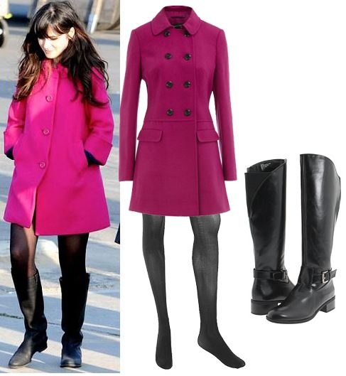 What the Frock? - Affordable Fashion Tips and Trends: Celebrity Copycat: Zooey Deschanel Style