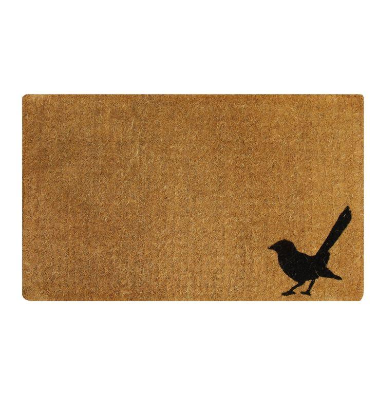 A Little Birdy Door Mat - Matt Blatt