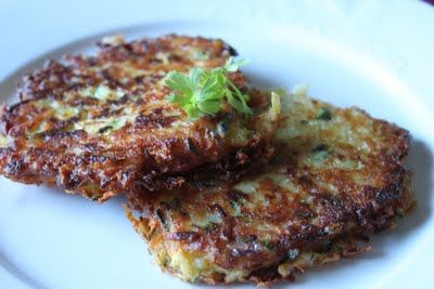 Meatless Meals for Meat Eaters- Zucchini Cakes