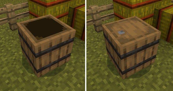 How To Make A Barrel Minecraft