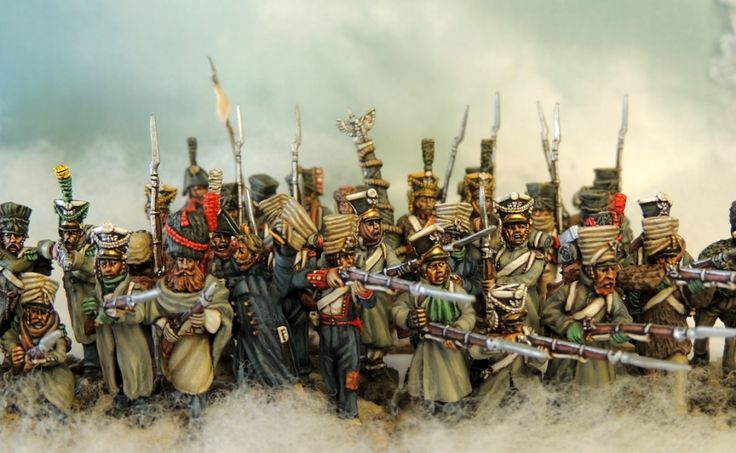 Murawski polish infantry in winter-campaign dress Painted by Francesco Thau