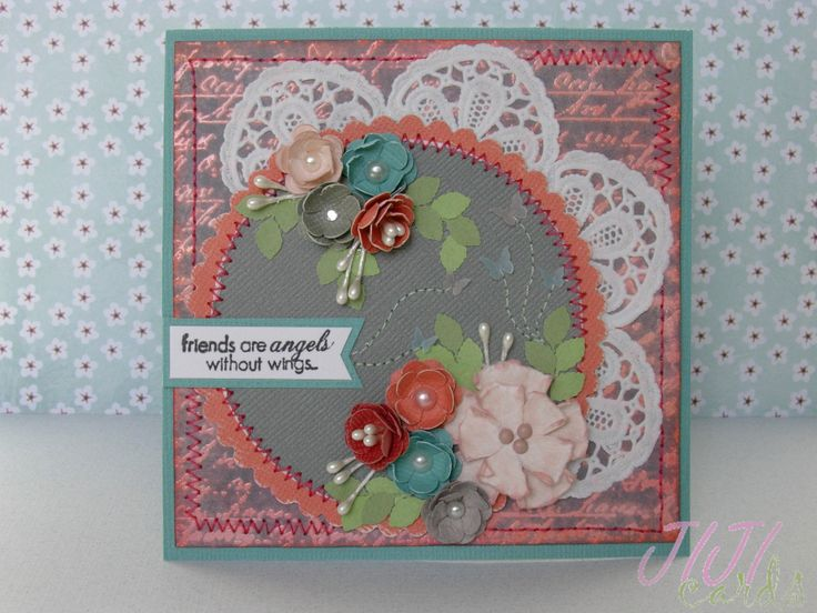 JIJI Cards - Flowers and Butterflies