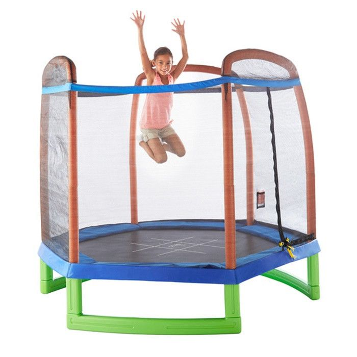 17 Best Ideas About Enclosed Trampoline On Pinterest