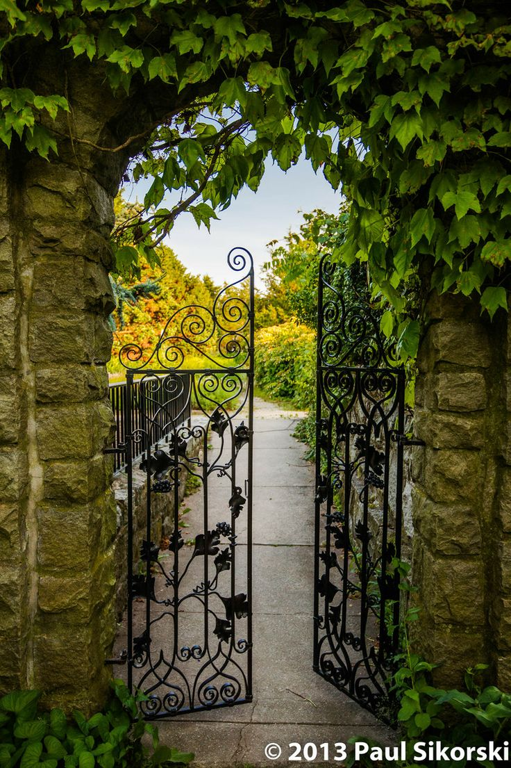pretty garden gate doors windows gates pinterest