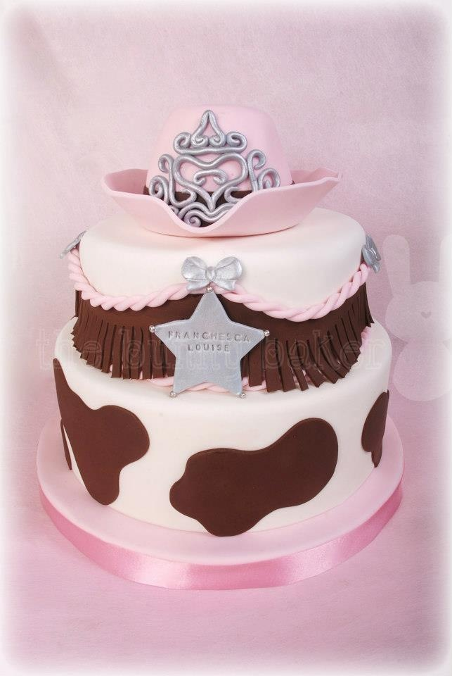 cow girl princess birthday cake - thinking of you @Amy Edmondson