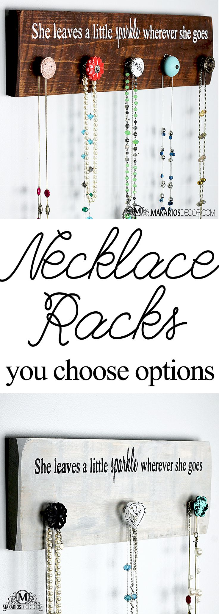 25 best Necklace hanger ideas on Pinterest Necklace storage