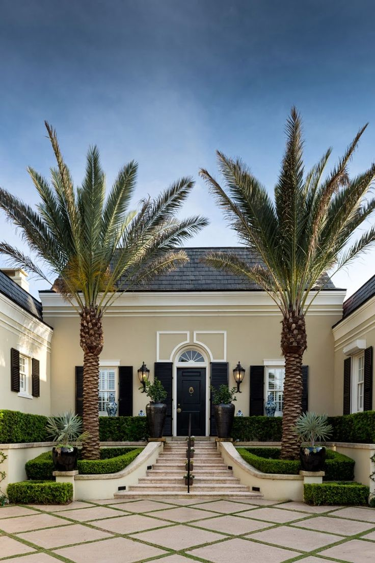 A Palm Beach Regency Style Home- The Glam Pad